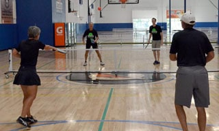 pickleball indoor game